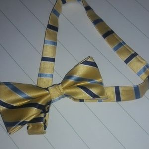 Other - Boys Adjustable yellow blue bowtie